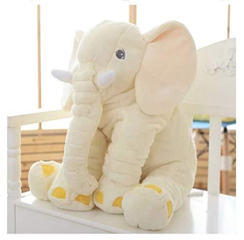 Joytea Tierkissen Plüsch Kinder schlafen Baby weiches Kissen Spielzeug Elefant niedliche Baumwollprodukte für Kleinkinder, Größe 40 cm - Elefanten Weichen Kissen