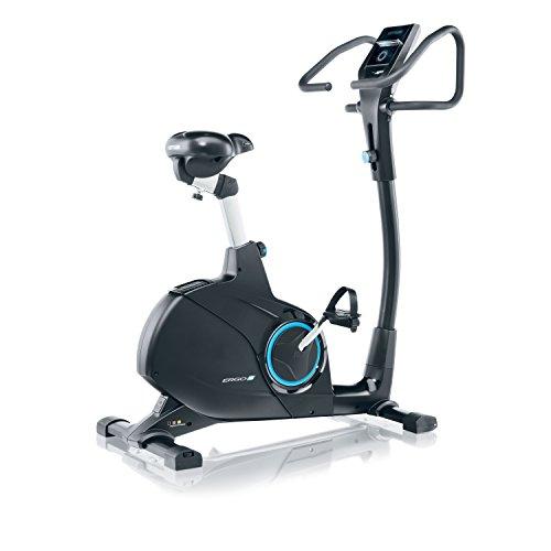Kettler ERGO S Bicicletta da camera Cyclette fascia cardio POLAR incluso World Tours 2.0 up-grade