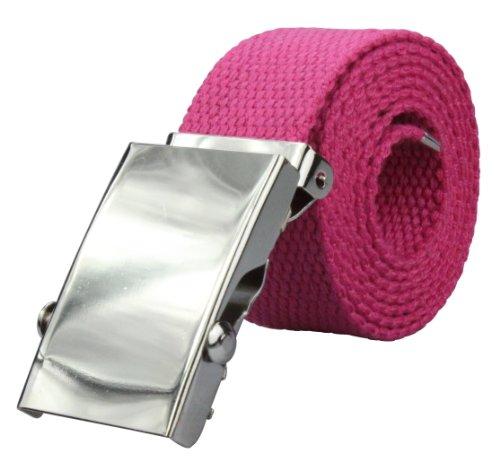 Stoffgürtel in pink 110cm Gesamtlänge = 95cm Bundweite