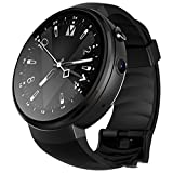LXFMD Smart Watch Android-Schritte GPS-Zahlung Unicom Mobile 4G Support Telecom Network (Farbe : SCHWARZ)
