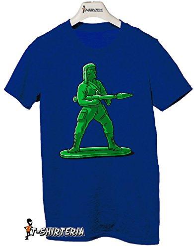 T-shirt Super Mini Soldier - Tutte le taglie by tshirteria Blu