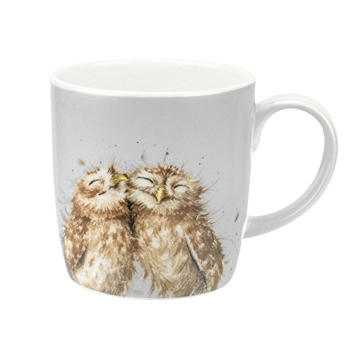 Wrendale The Twits (Owl) Royal Worcester Fine Porcelain
