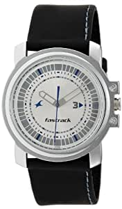 Fastrack Economy Analog Silver Dial Men's Watch -NK3039SL01