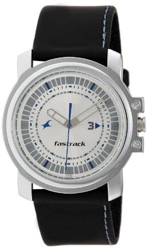 Fastrack Economy Analog Silver Dial Men's Watch - NE3039SL01 image