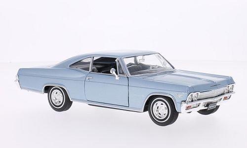 chevrolet-impala-ss-396-metallizzato-azzurro-1965-modello-di-automobile-modello-prefabbricato-welly-