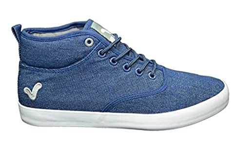 Men's Designer Voi Jeans Trainers Stylish Hi Top Shoes Gym Walking Pumps Sneakers Footwear