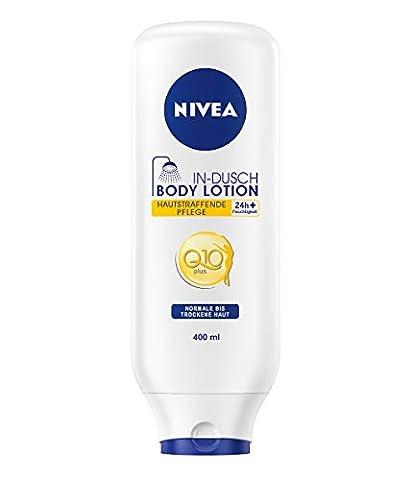 Nivea Hautstraffende In-Dusch Body Lotion Q10, 1er Pack (1 x 400 ml)