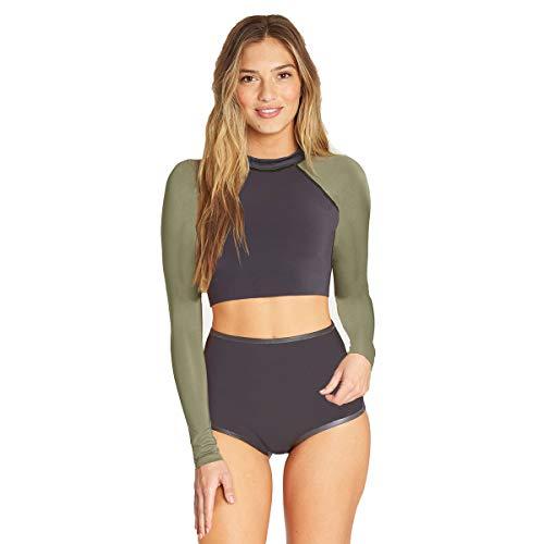 Billabong Women's Long Sleeeve Sea Crop Wetsuit Top -
