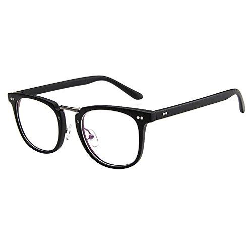 Forepin Dame Durchsichtig klare Linse Klarglas Brille Rahmen Mädchen Unisex Gläser Wechselgläser...