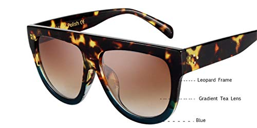 Daawqee Prämie Sonnenbrillen,Brillen,Woman Flat Top Oversized Sun Glasses Cat Eye Sunglasses Brand Designer De Sol K9250 9