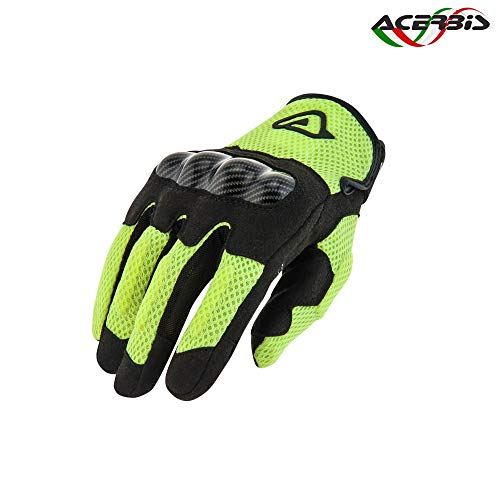 Acerbis guanti ramsey my vented giallo l (Guanti) / glove ramsey my vented yellow l (Gloves)