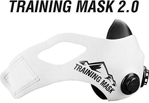 TRAININGMASK Elevation Training Mask 2.0, Medium (White)