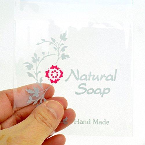 Cellophane sacchetti regalo sacchetti regalo di sapone rosse pacchetti di sapone naturale - 50 fogli
