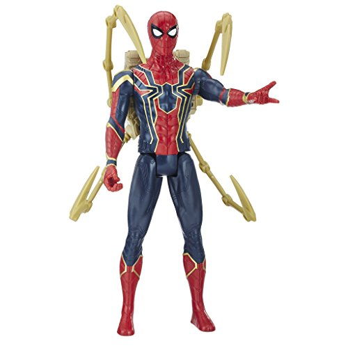 Marvel Titan y Mochila Power Fx Spider-Man (Hasbro E0608105)