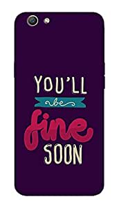 SWAG my CASE PRINTED BACK COVER FOR OPPO F1S Multicolor