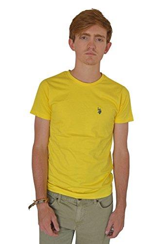 us-polo-assn-t-shirt-homme-taille-unique-jaune-large