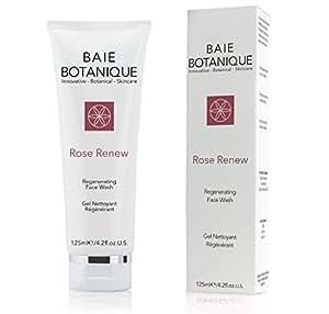 Baie Botanique ∙ Regenerierendes Reinigungsgel ∙ Rose Renew Waschgel mit Rosenwasser, Rose Absolue, Hagebuttenkernöl, Vitamin C, MSM, Grüner Tee.