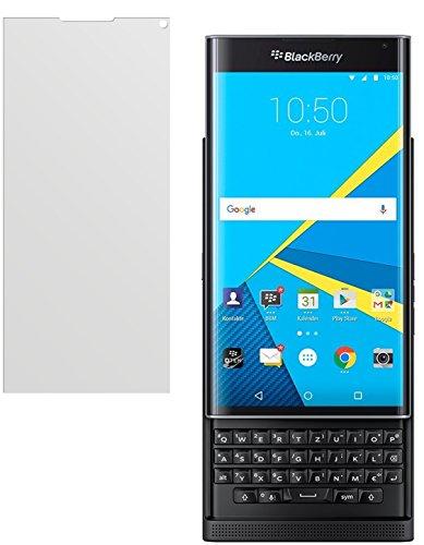 dipos Blackberry Priv Schutzfolie (2 Stück) - Antireflex Premium Folie matt