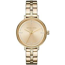Michael Kors Reloj Analogico para Mujer de Cuarzo con Correa en Acero Inoxidable MK3792