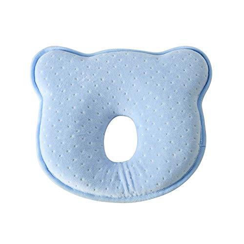 Ogquaton Almohada para bebé Suave Cabeza infantil Ortopédica...