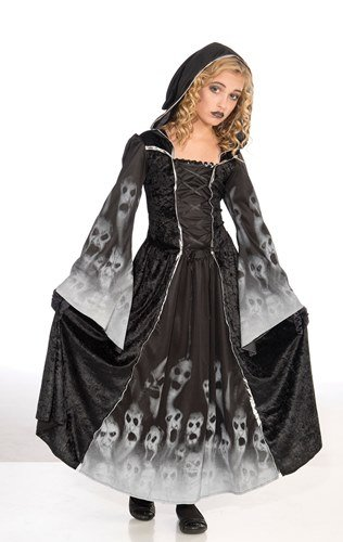 Forgotten Souls Girls Childs Halloween Fancy Dress Costume - L 146cms by Parties Unwrapped (Verlorene Seele Kostüm)