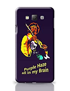 PosterGuy Purple Haze Jimi Hendrix Graphic Illustration Samsung Galaxy A7 Covers