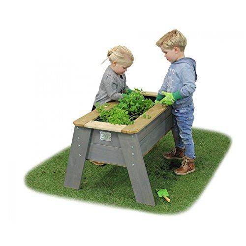Preisvergleich Produktbild EXIT Aksent Hochbeet L / Material: Nordisches Fichtenholz / Maße: 93,5 x 68 x 50 cm / Gewicht: 13 kg / für Kinder ab 3 Jahren geeignet
