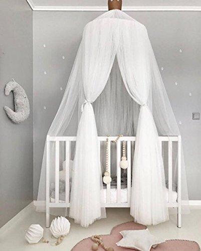 Betthimmel Baumwolle rund Dome Moskitonetz Kids Kinder Betthimmel Dome Comfort Betthimmel Netz Baby Moskitonetz Lesung Nook Spielen Zelte Aufhängen Vorhang -