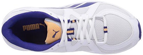 Puma  Axis v3 Mesh, Chaussures de fitness pour femme Blanc - Weiß (white-clematis blue 06)