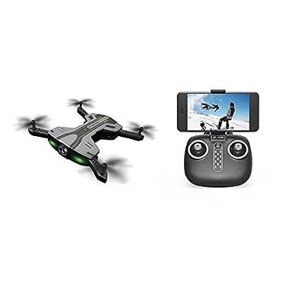 SZJJX RC Drone Foldable Remote Control WiFi Quadcopter