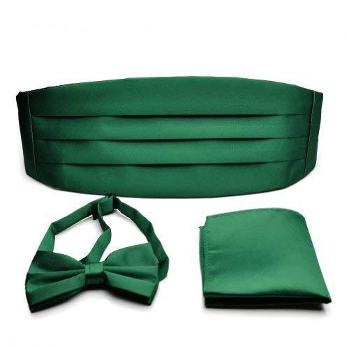 PenSeeHerren Kummerbund, Einfarbig Dard Green Bowties Cummerbunds