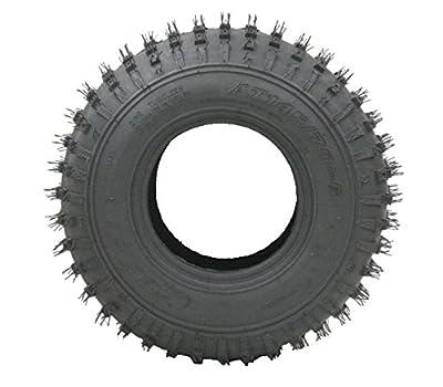 2 -145/70-6 - knobby ATV tyre Quad trailer wheels 50cc 90cc 110cc Wanda 75 kgs