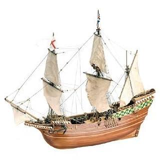 Artesanía Latina 22451 - Modell aus Holz: Schiff Mayflower 1/64