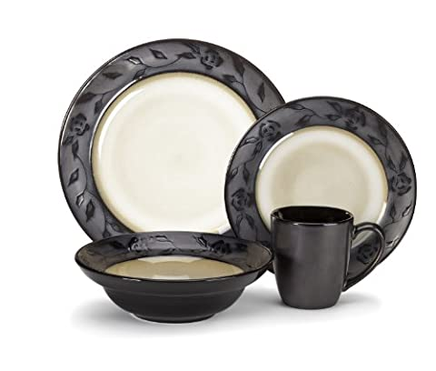 Cuisinart Stoneware Abilly Collection 16-Piece Dinnerware Sets