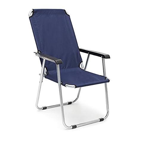 Siege De Camping Pliable - Relaxdays 10020074 Chaise de camping pliante fauteuil