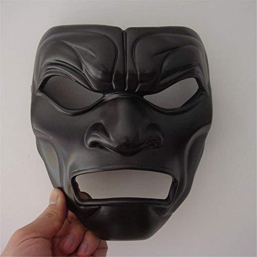 CHENJJ Masken Horror Spartan Mask Headgear Lustige for Halloween Devil Helm Performance Requisiten Scary - Spartan Mann Kostüm