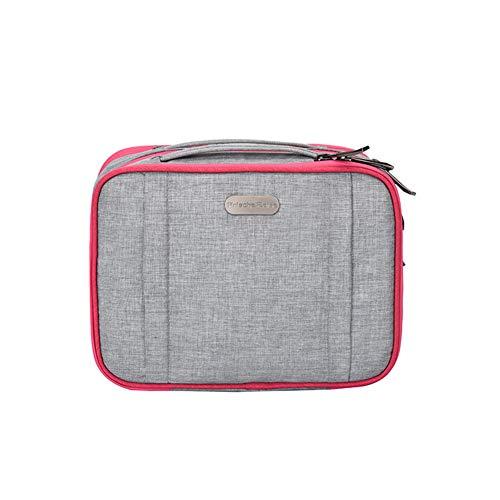 YuYaX Home Hängende Kulturbeutel, Travel Wash Portable Wasserdichte Kosmetiktasche für Frauen Bad Organizer Bag mit Haken, Gray