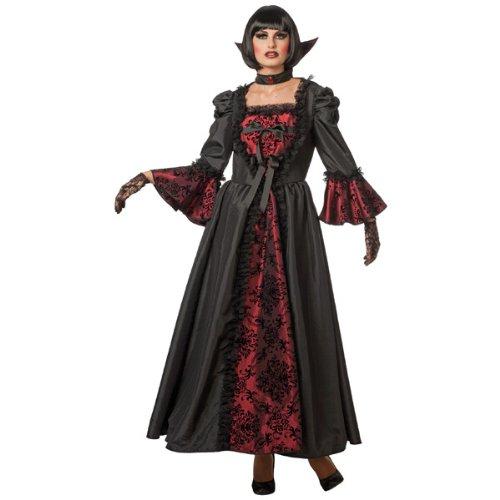 Kostüm Countessa - WOOOOZY Damen-Kostüm Countessa Darcy, schwarz Gr. 44