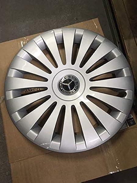 Mercedes Benz Original 4 Stück 17 Zoll Radkappen Silber Schwarz W 447 V Klasse Vito Baujahr Ab 05 2014 Auto