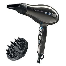 Imetec Salon Expert P2 2200 Asciugacapelli Professionale, Motore AC 2200 W, Tecnologia a Ioni, Rivestimento in Ceramica…