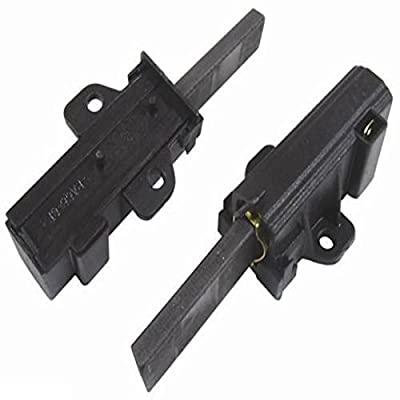 SPARES2GO Motor Carbon Brush Pair for Zanussi Washing Machine (Pack of 2)