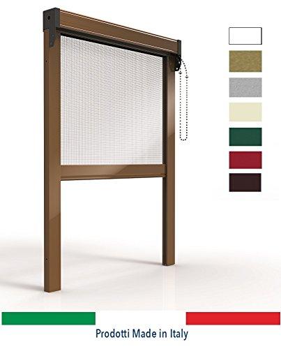 Or tende - zanzariere per finestre, zanzariera verticale in alluminio a catena, con spazzolino laterale, produzione su misura, non kit cinesi di pessima qualita'.