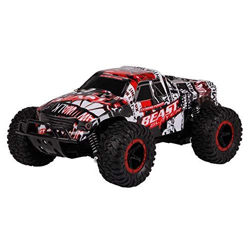 GLXLSBZ RC AutoFerngesteuertes Auto, Ferngesteuertes Auto RC Auto High Speed Geländewagen Maßstab 2WD Antrieb Geschwindigkeit Wasserdicht