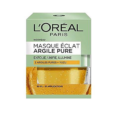 L'Oréal Paris Masque Eclat aux 3 Argiles Pures et graines