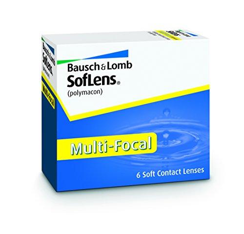 Bausch & Lomb Soflens Multifocal, 6 Stück / BC 8.5 mm / DIA 14.5 / -1,00 Dioptrien