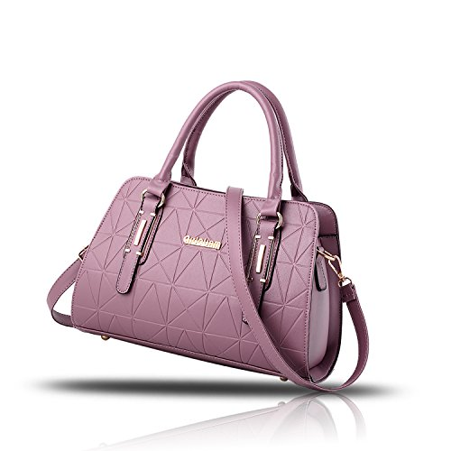 Tisdain Sacchetto di viaggio commovente del raccoglitore delle signore del sacchetto del messaggero della spalla della borsa delle donne della borsa delle donne viola