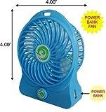Mini Small Rechargeble Battery Fan Cooli...