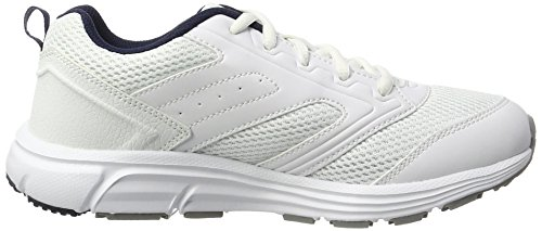 Lotto Unisex-Kinder Speedride 500 Jr L Outdoor Fitnessschuhe Weiß (Wht/Slv MT)