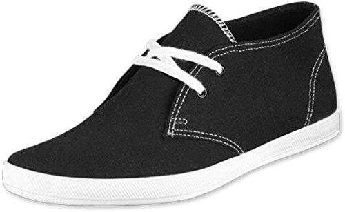 Keds Chukka (Keds Schuhe Chukka Boot Black Canvas, Schuhgrösse:43.5)