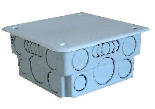 2x UP Abzweigdose 100x100 unterputz Gehäuse Verdrahtungsdose